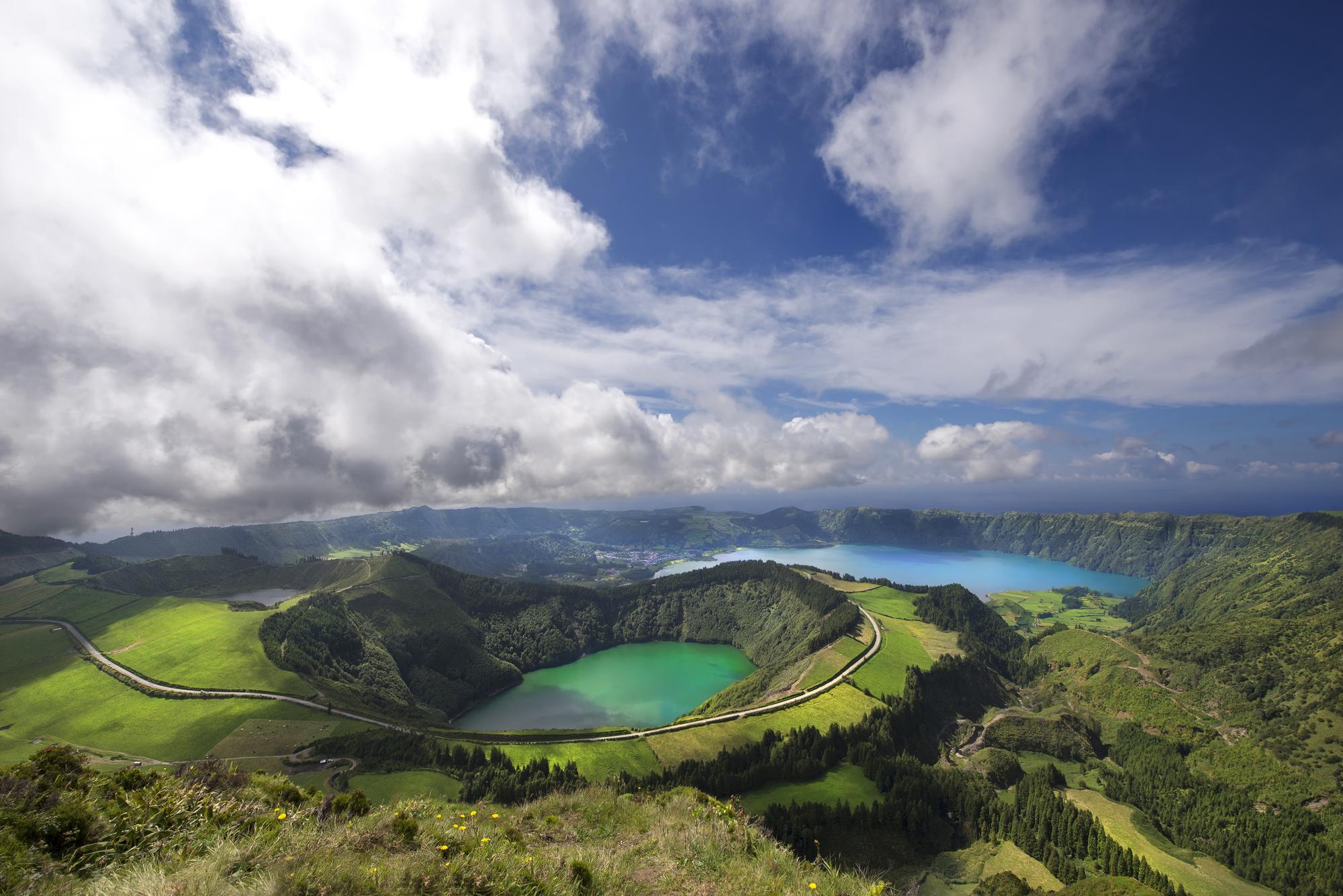 azores lago
